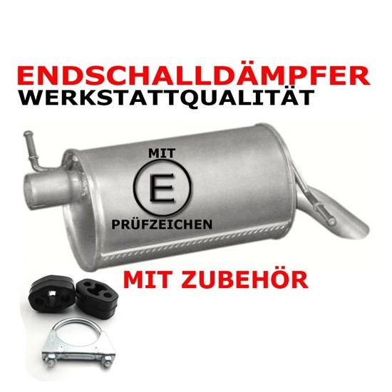 End + Mittelschalldämpfer Ford + Zubehör + MP