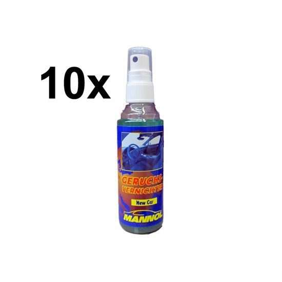 10x Geruchsvernichter New Car 100ml