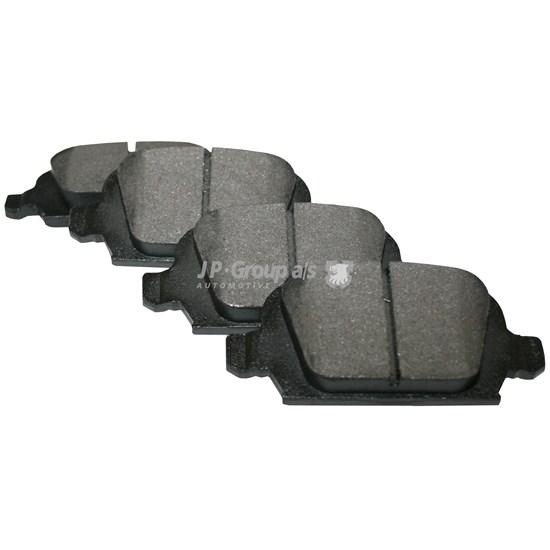 Bremsklotzsatz, hinten, 14,0 mm