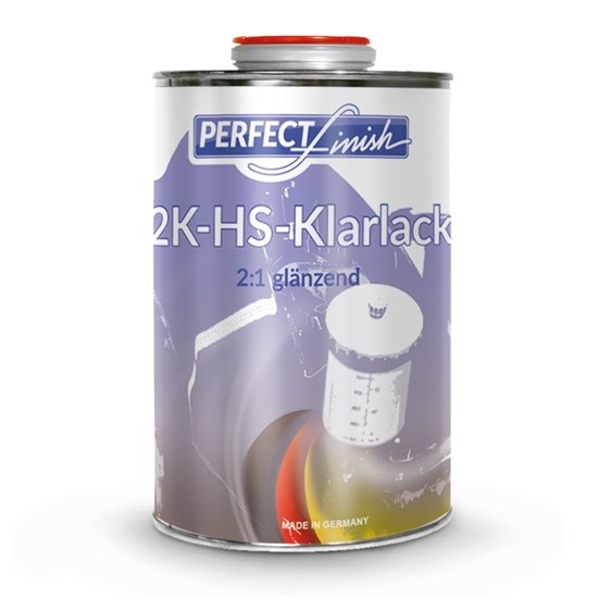 2K - Acryl Klarlack glänzend | 1 Liter