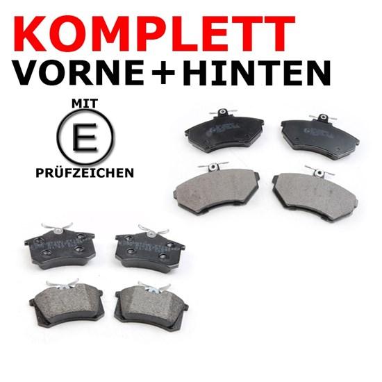 Bremsbelagsatz vorne + hinten VW