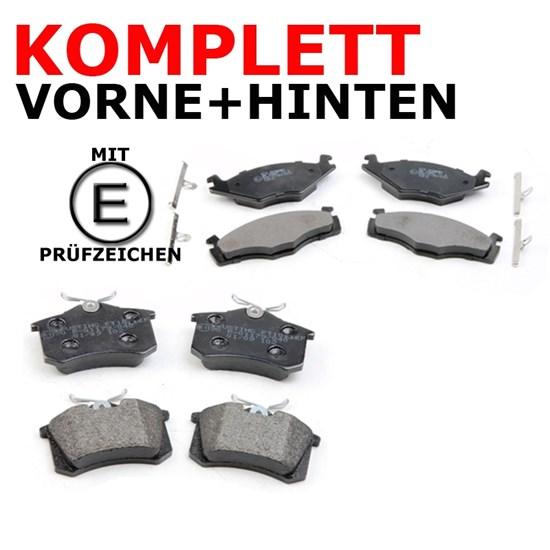 Bremsbelagsatz vorne + hinten Seat VW