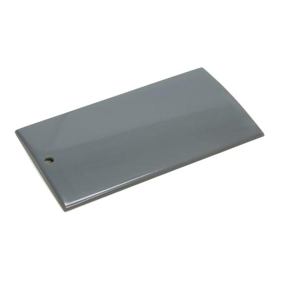 Musterplättchen ABS einfarbig | grau