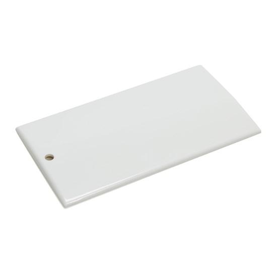Sample plate ABS monochrome | white