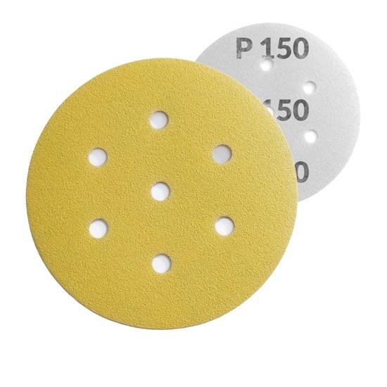 Schleifscheibe mit Klett Ø 150 mm | P 150