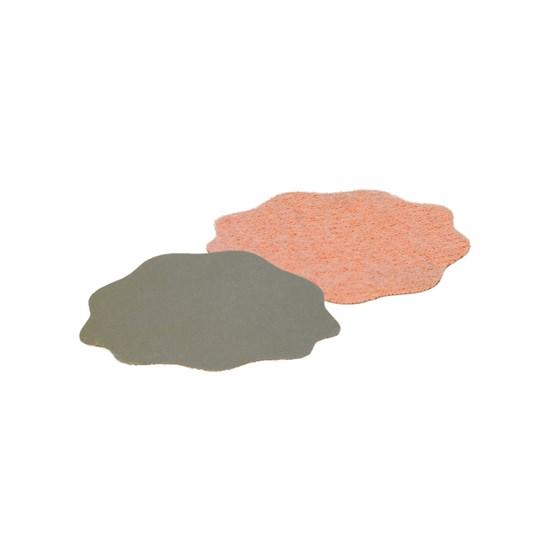 Schleifblüte mit Klett Ø 38 mm | P 2000