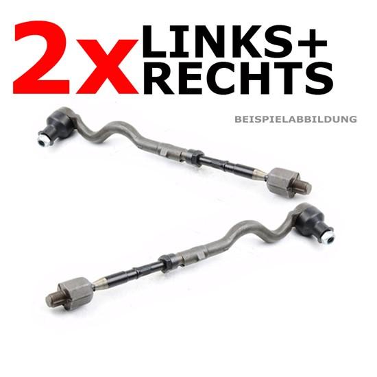 2 x Axialgelenk Spurstange Peugeot vorne L + R