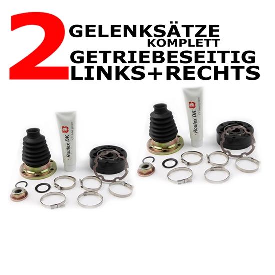 2 xGelenksatz  getriebeseitig links + rechts VW
