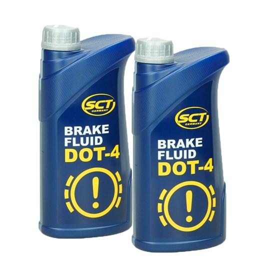 2 x SCT Bremsflüssigkeit DOT4 1 kg / DP88944