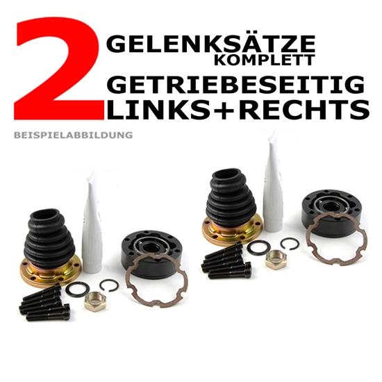 2 x Achsmanschetten getriebeseitig links + rechts