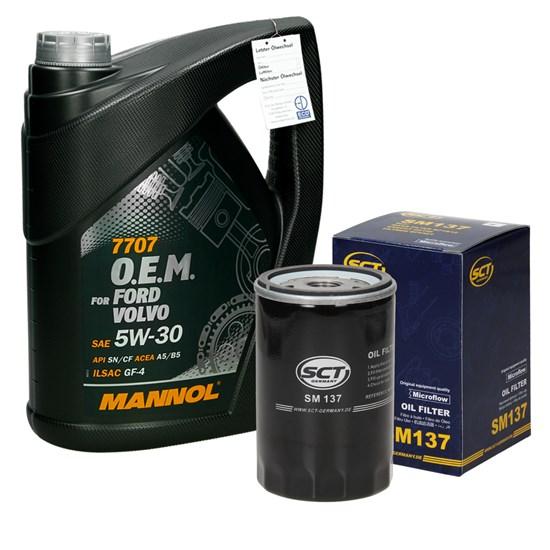 Ölwechselpaket Ford VW Chrysler O.E.M 5W-30 5 L
