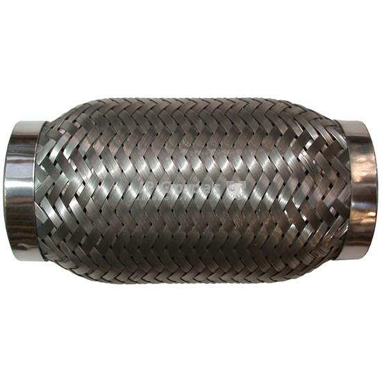Wellrohr mit Inner Liner, 60x150 mm, Edelstahl, 0,