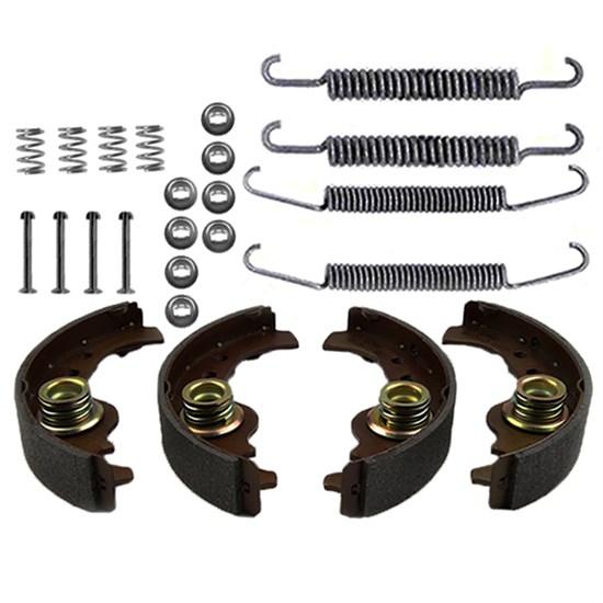 Bremsbacken + Zubehörsatz hinten FIAT SEAT LANCIA