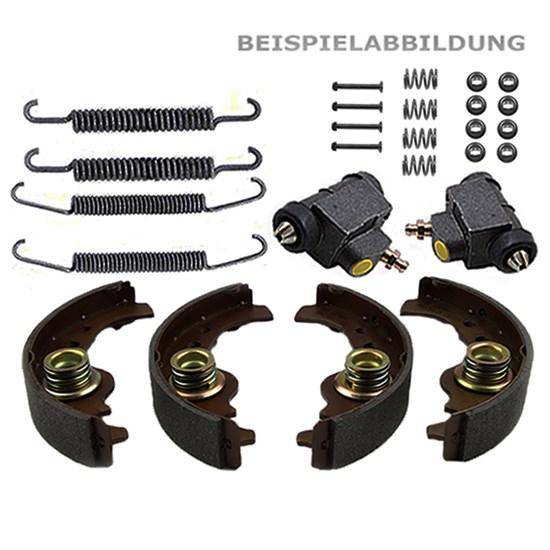 Bremsbacken + Radbremszylinder + Zubehörsatz Seat