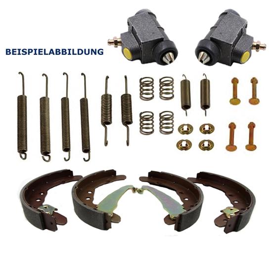 Bremsbacken + Radbremszylinder+ Zubehör VW