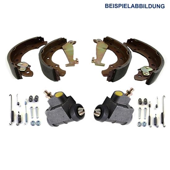 Bremsbacken + Radbremszylinder + Zubehör HA VW