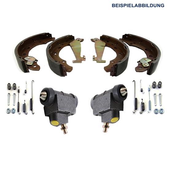 Bremsbacken + Radbremszylinder + Zubehör AUDI VW
