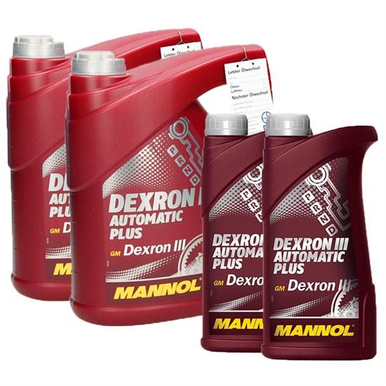 10L Liter Dexron III Automatik Plus