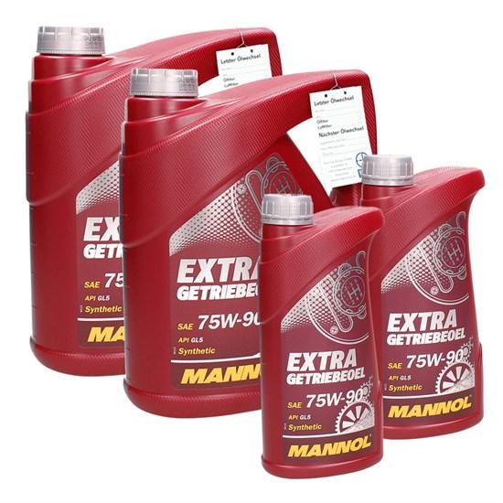 Mannol SAE 75W-90 API GL 4/5 LS Extra Getriebeöl u. Achsöl 10 Liter