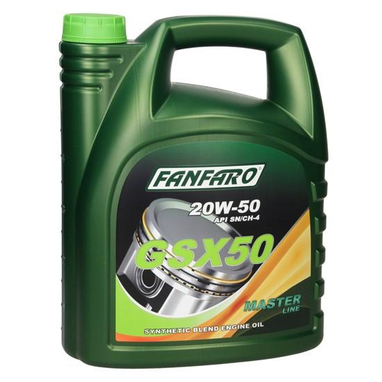 5L FF6403-5 FANFARO GSX 50 SAE 20W-50