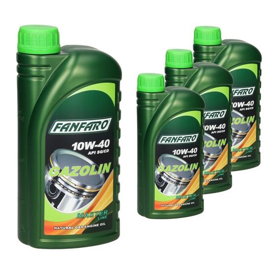 4L FF6504-1 FANFARO GAZOLIN SAE 10W-40