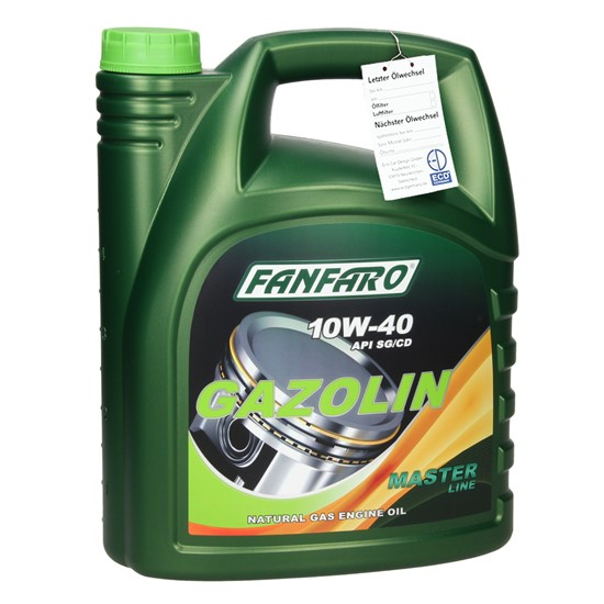 5L FF6504-5 FANFARO GAZOLIN SAE 10W-40