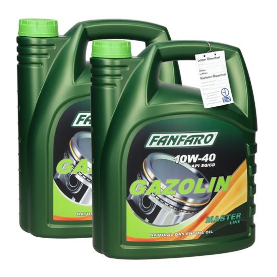 2x5L FF6504-5 FANFARO GAZOLIN SAE 10W-40