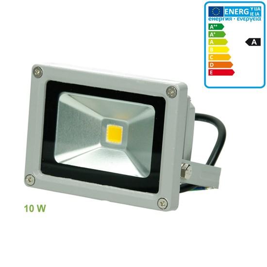 LED-Flutlicht 10W, Warmweiß, wasserfest