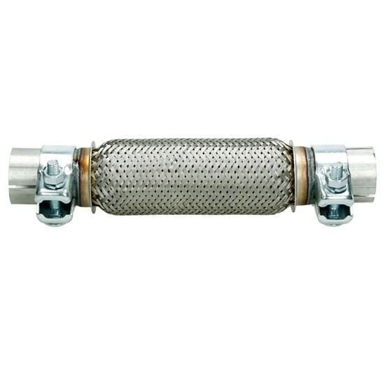 Flexrohr Edelstahl 45 x 200 mm mit Schellen
