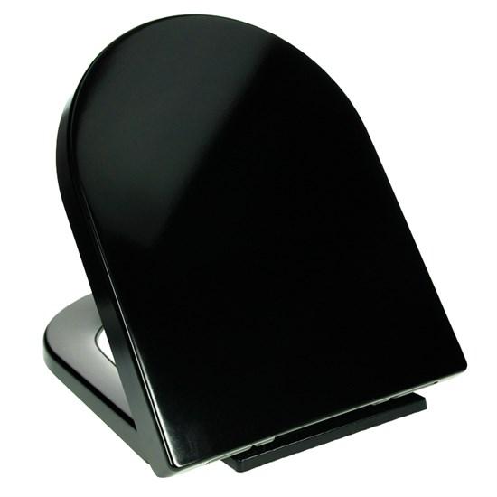 Wc Sitz Schwarz : wc sitz mit absenkautomatik schwarz ~ Watch28wear.com Haus und Dekorationen
