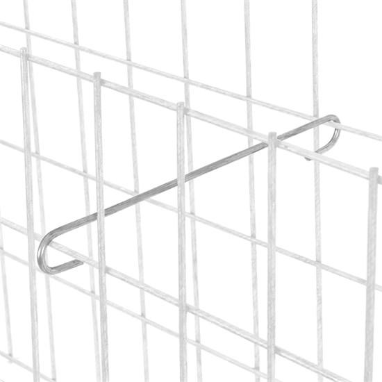 10er Set Gabionen Distanzhalter, 10 cm, aus verzinkter Stahl