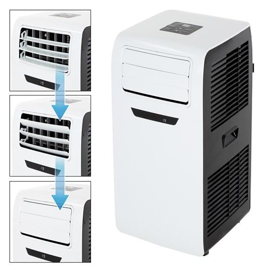 Mobile Klimaanlage 3in1, 2600W, mit Digitalanzeige und Fernbedienung