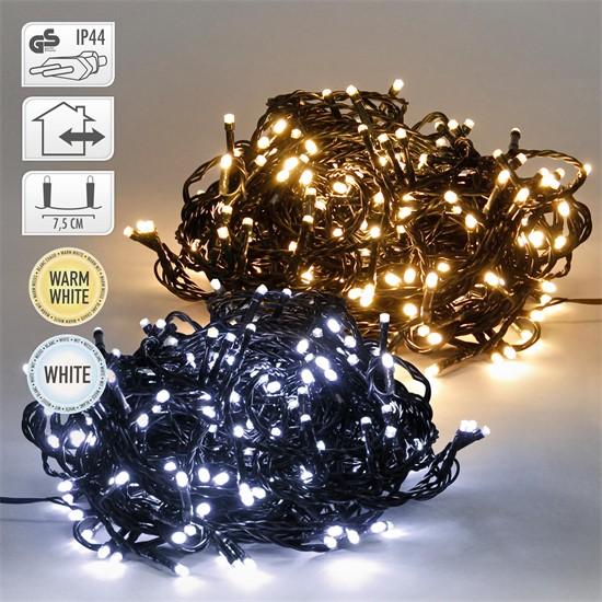 LED Lichterkette für Weihnachten, mit 480 LEDs, Kaltweiß