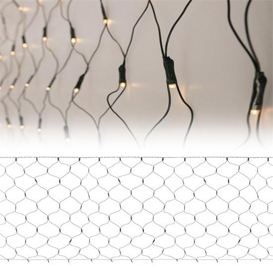 LED Lichtervorhang 1x2 m warmweiß 160 LED