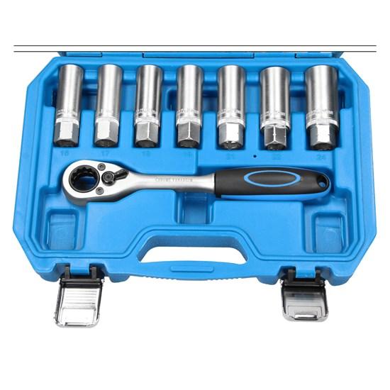 Stoßdämpfer Werkzeug Set 18-Teilig für Stoßdämpfer aus Chrom Vanadium Stahl