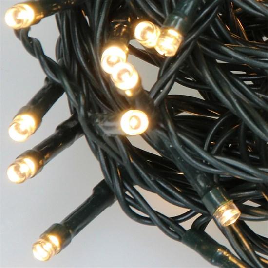 Weihnachtsbaumschmuck LED Lichterkette für Weihnachten 48m warmweiß mit 480 LEDs