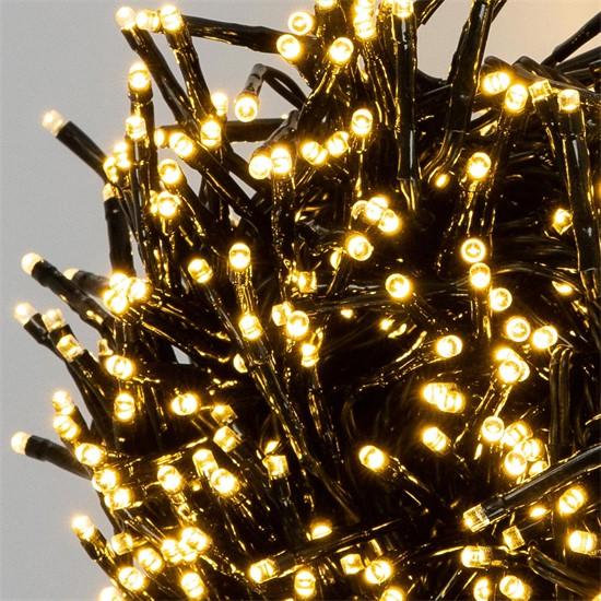 Weihnachtsbaumschmuck LED Lichterkette 8,5m warmweiß mit 1152 LEDs