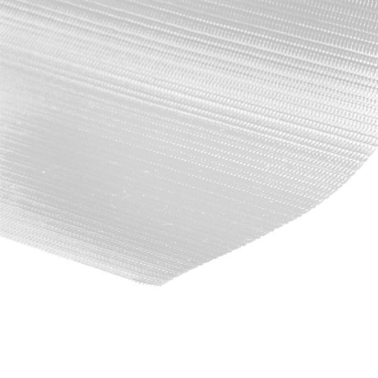 PVC Sichtschutzstreifen Rolle 65 m mit 30 Befestigungsclips Weiß