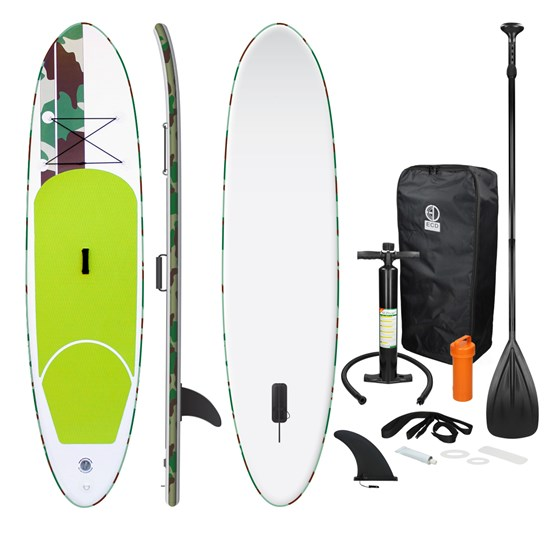 Stand Up Paddle Surf-Board Grün