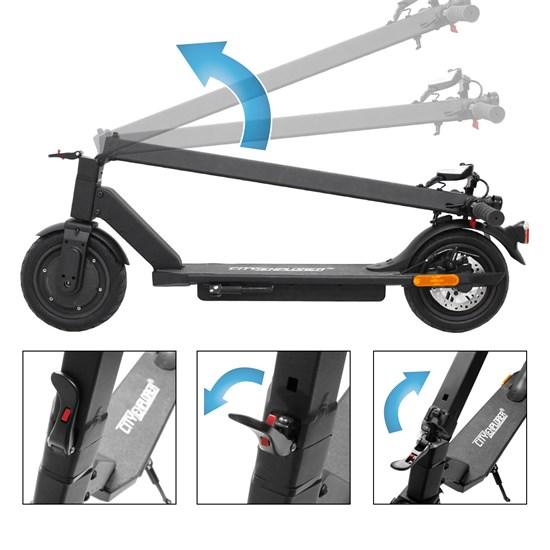 City Explorer® E-Scooter mit Straßenzulassung StVZO 250W