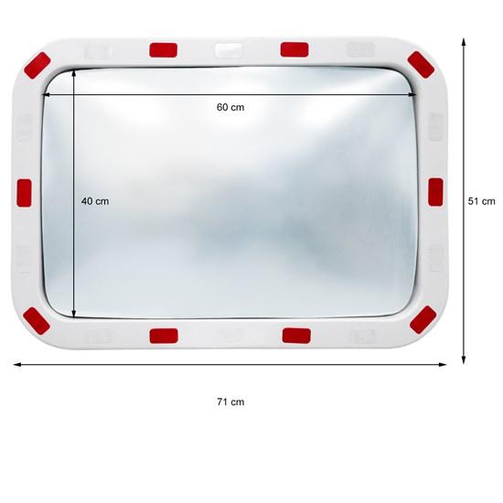 Verkehrsspiegel 40 x 60 cm