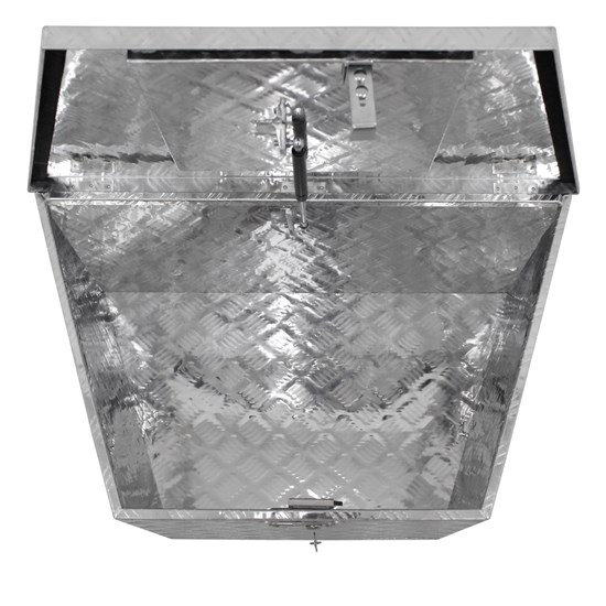 Transportkiste Aluminium 82x50x47 cm abschließbar