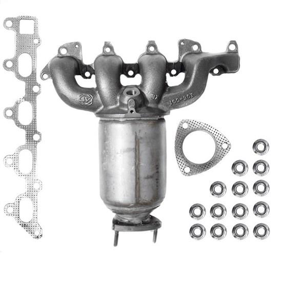 Katalysator mit Montagesatz, Opel Astra G