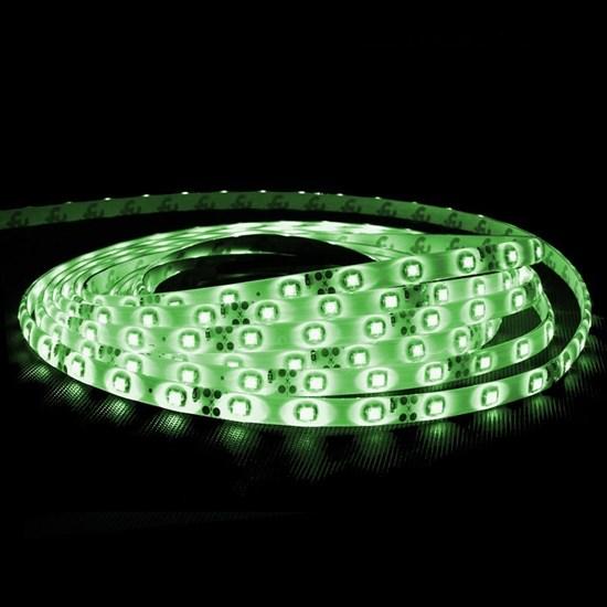 LED-Streifen 5 m, Grün, wasserfest - 60 LED pro Meter