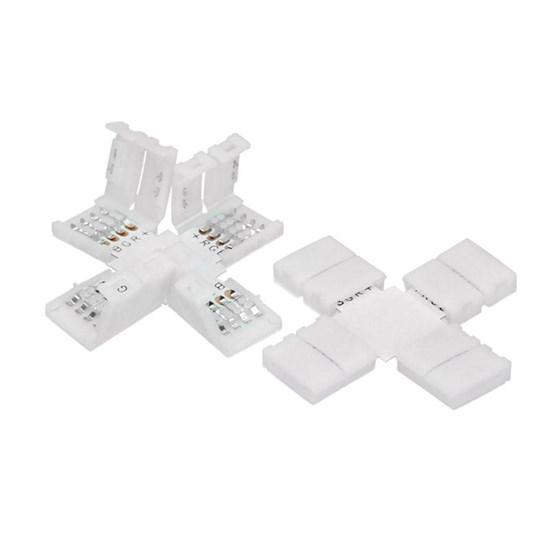 LED-Sreifenverbinder Kreuz-Form für RGB-Streifen