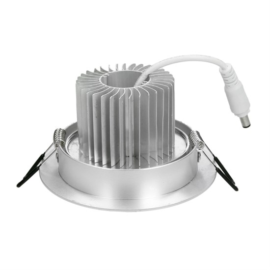 LED Einbauspot 5 Watt Ausf. COB Aluminium schwenkbar warmweiß