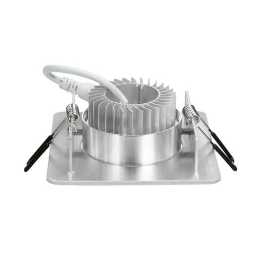 LED Einbauspot 3 Watt Ausf. COB Aluminium schwenkbar kaltweiß