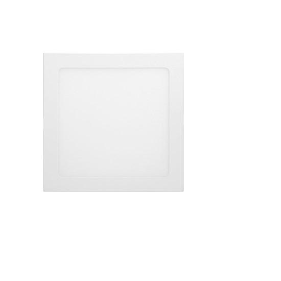 LED-Panel Einbaustrahler 18W, kaltweiß, Eckig