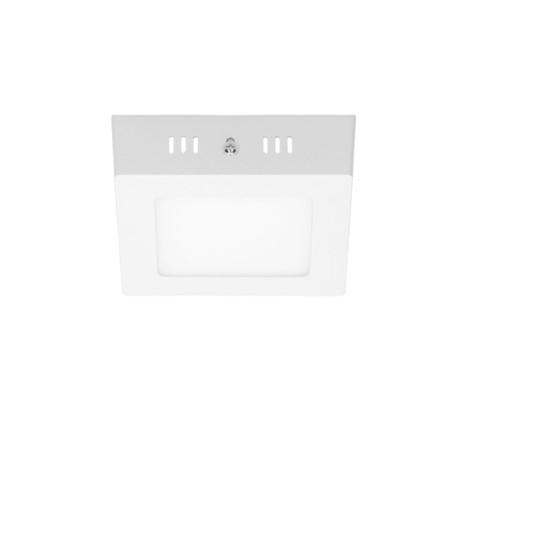 LED-Deckenlampe 12W, Neutralweiß, Eckig
