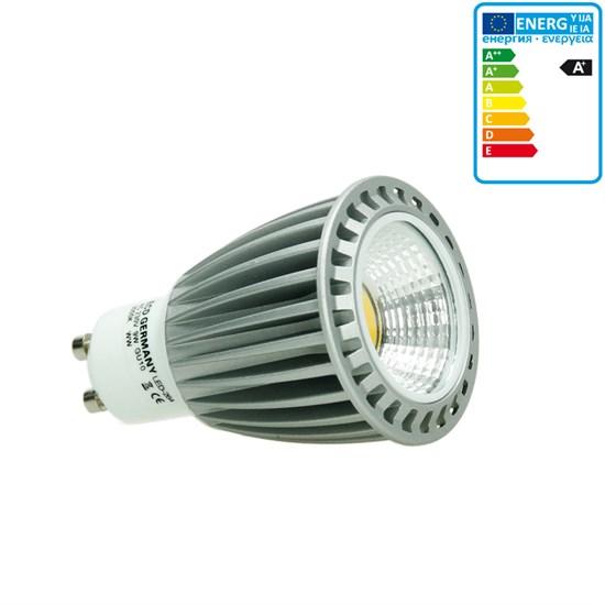 LED-Spot GU10 COB, Warmweiß, 9W